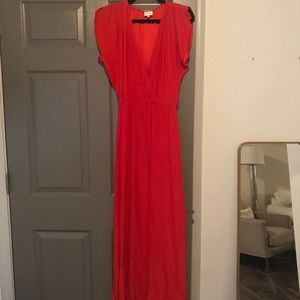 Parker NY Red Evening Gown